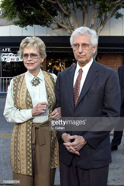 Diana Douglas Donald Webster during 'It Runs In The Family' Premiere Arrivals at Mann Bruin Theatre in Westwood California United States