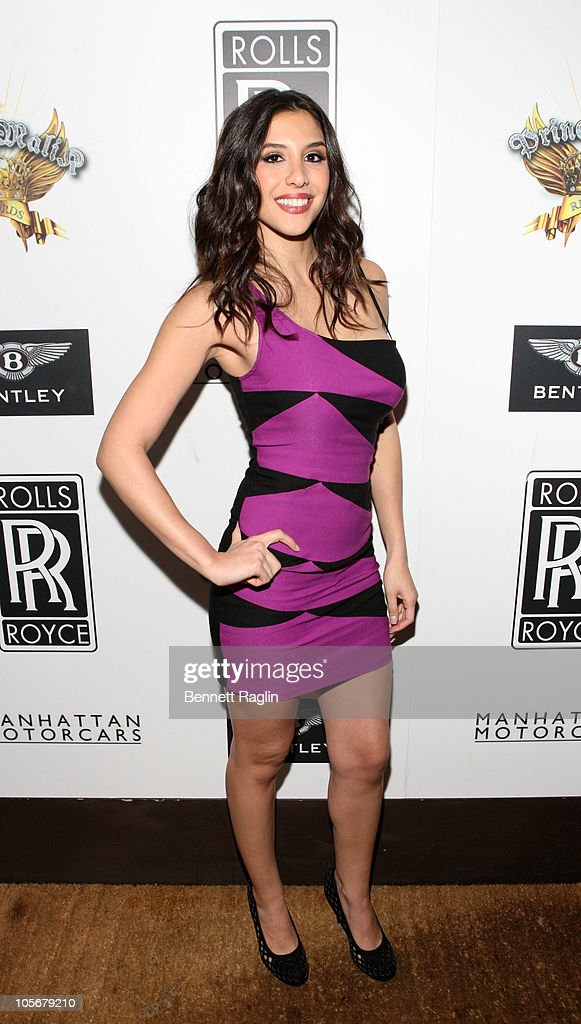 ... launch party at 1OAK on October 18, 2010 in New York City. Show more
