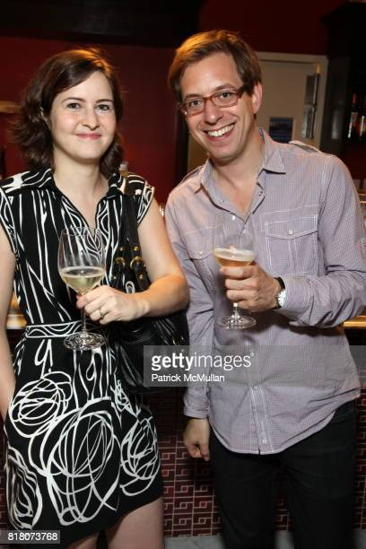 Diana Fitchian and Adam Roberts attend Epicurious 15th Anniversary Dinner at Eataly on September 29 2010 in New York