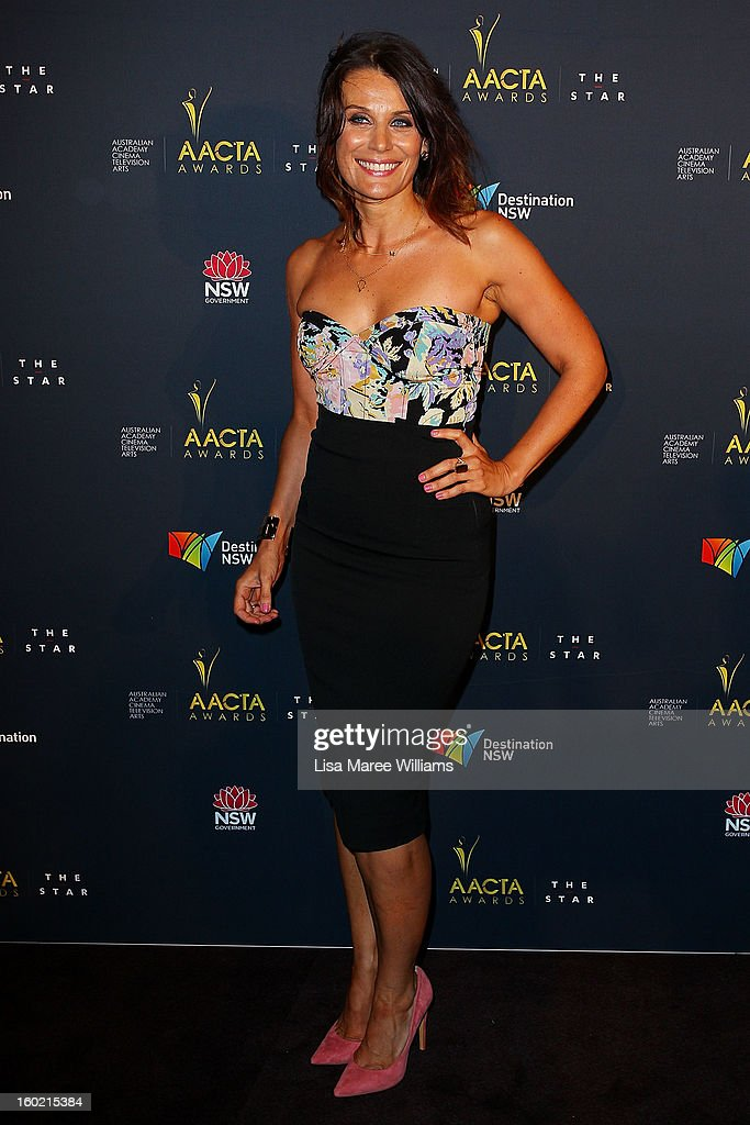 Diana Glenn attends the 2nd Annual AACTA Awards Luncheon at The Star on January 28, 2013 in Sydney, Australia.