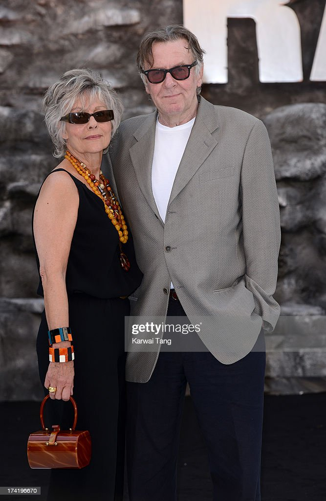 Diana Hardcastle and Tom Wilkinson attend the UK Premiere of 'The Lone Ranger' at Odeon Leicester Square on July 21, 2013 in London, England.