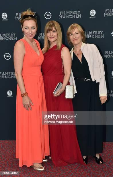 Diana Iljine and Nastassja Kinski and Valeska Grisebach during the premiere of 'Ihre Beste Stunde' as closing movie of Munich Film Festival 2017 at...