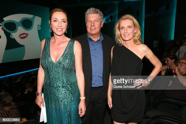 Diana Iljine Dieter Reiter and Maria Furtwaengler during the opening night of the Munich Film Festival 2017 at Mathaeser Filmpalast on June 22 2017...