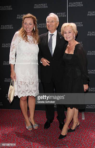 Diana Iljine Edmund Stoiber and his wife Karin attend the 'Gala Abend mit Arthur Cohn' as part of Filmfest Muenchen 2014 at Gasteig on July 1 2014 in...