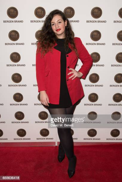 Diana Iusco attends the Bergen Brand Handbag launch at Wolf Badger on March 16 2017 in London England