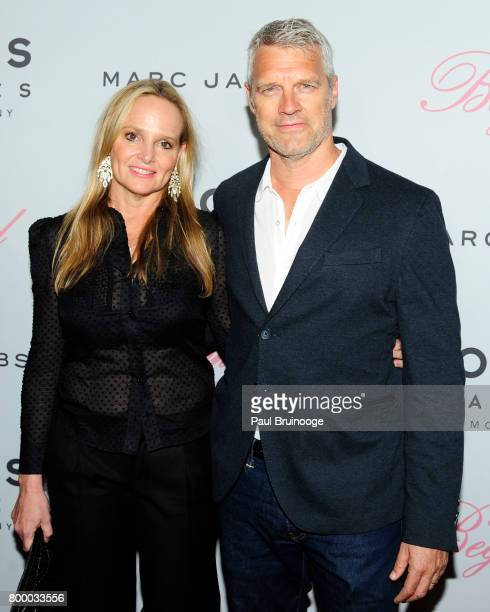 Diana Kellogg and Neil Burger attend 'The Beguiled' New York Premiere Arrivals at Metrograph on June 22 2017 in New York City