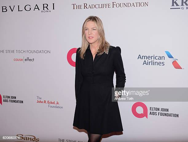 Diana Krall attends 15th Annual Elton John AIDS Foundation An Enduring Vision Benefit at Cipriani Wall Street on November 2 2016 in New York City