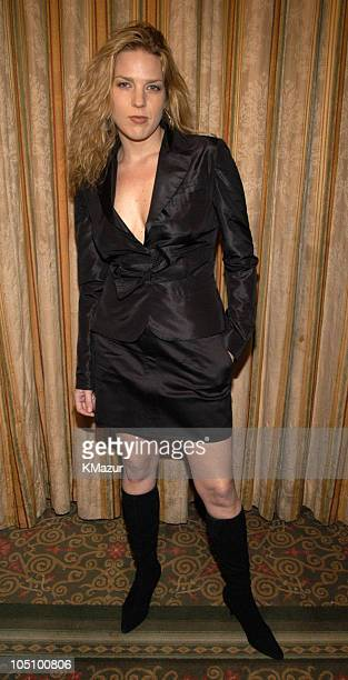 Diana Krall during The 18th Annual Rock and Roll Hall of Fame Induction Ceremony Inside at The Waldorf Astoria in New York City New York United States