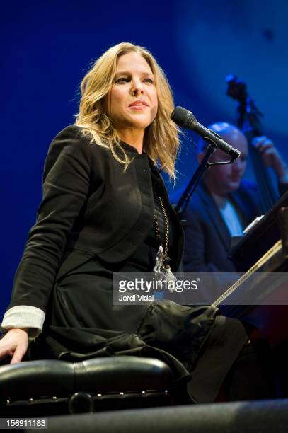 Diana Krall performs at L'Auditori on November 24 2012 in Barcelona Spain