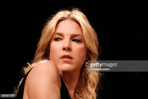 Diana Krall performs on stage at the Royal Albert Hall on October 28 2009 in London England