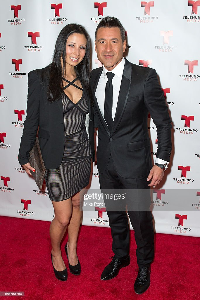 Diana Lee and Jorge Bernal attend the 2013 Telemundo Upfront at Frederick P. Rose Hall, Jazz at Lincoln Center on May 14, 2013 in New York City.
