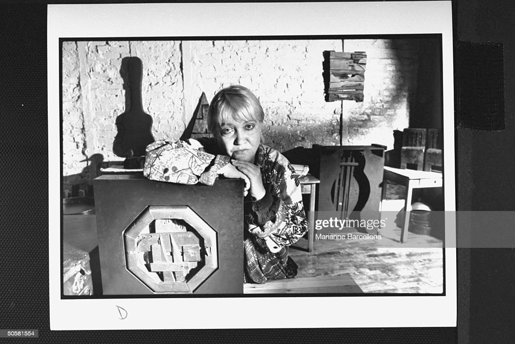 Diana MacKown livein companion since 1960 of sculptor Louise Nevelson living in poverty after Nevelson's son claimed total inheritance of property...