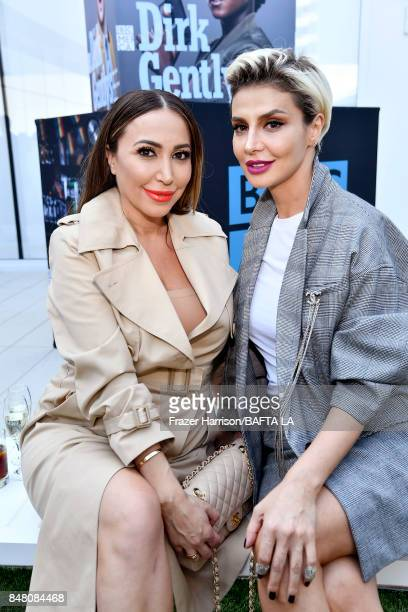 Diana Madison and Zara Alexandrova attends the BBC America BAFTA Los Angeles TV Tea Party 2017 at The Beverly Hilton Hotel on September 16 2017 in...