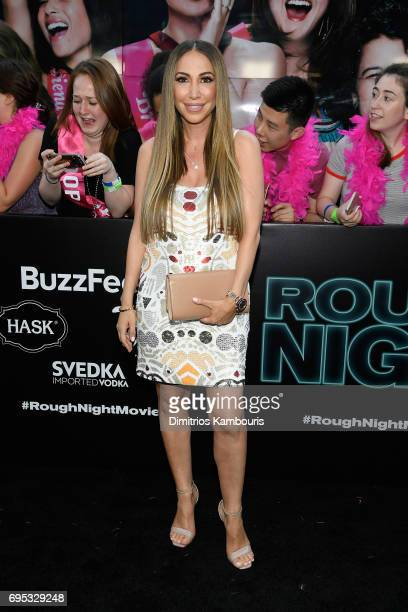 Diana Madison attends the 'Rough Night' premeire at AMC Loews Lincoln Square on June 12 2017 in New York City