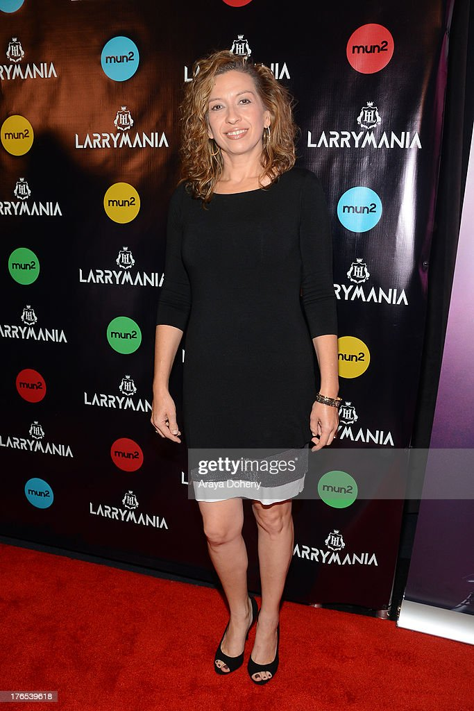 Diana Mogollon attends 'Larrymania' Season 2 Premiere Launch Party at SupperClub Los Angeles on August 14, 2013 in Los Angeles, California.