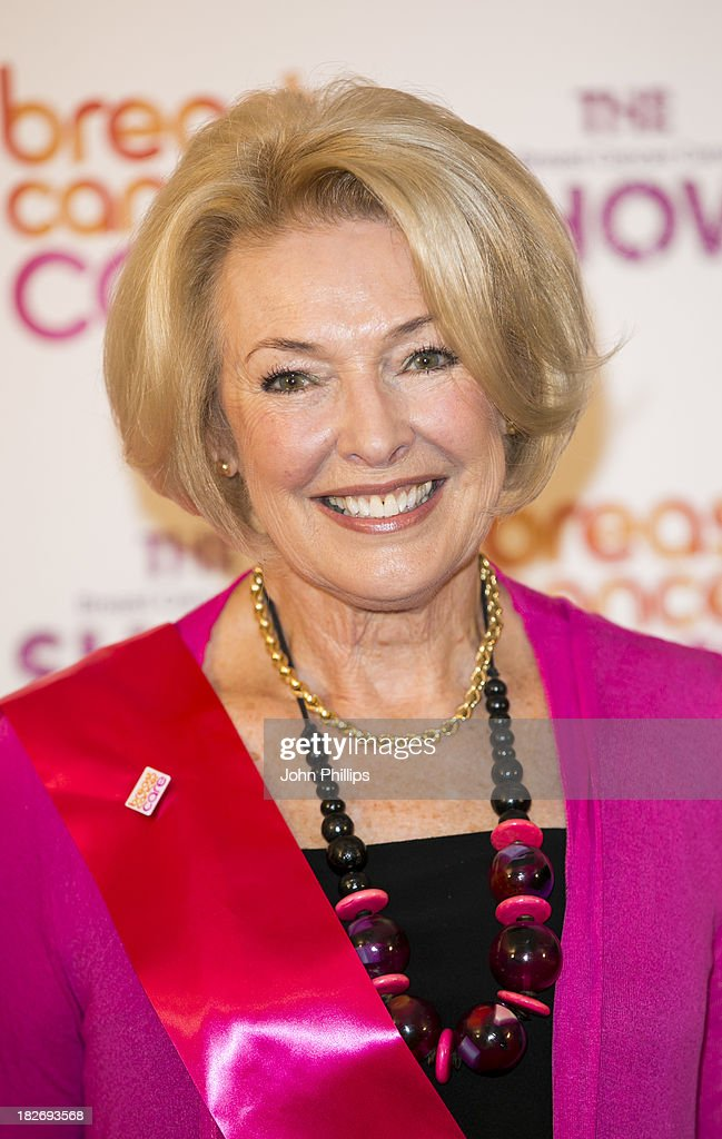 Diana Moran attends the photocall ahead of the Breast Cancer Care Fashion Show at Grosvenor House, on October 2, 2013 in London, England.