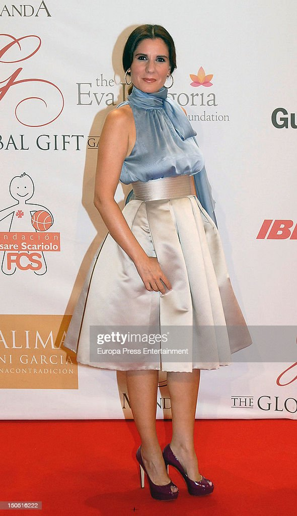 Diana Navarro attends the Global Gift Gala 2012 a party held by Cesare Scariolo Foundation and Eva Longoria Foundation to raise money for children on...