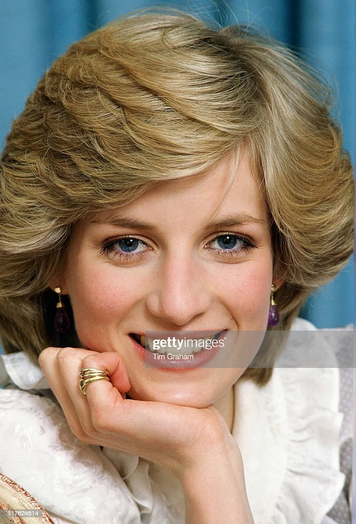Diana, Princess of Wales at her home in Kensington Palace on February 1, 1983 in London, England. (Photo by Tim Graham/Getty Images)On July 1st Diana, Princess Of Wales would have celebrated her 50th BirthdayPlease refer to the following profile on Getty Images Archival for further imagery. http://www.gettyimages.co.uk/Search/Search.aspx?EventId=107811125&EditorialProduct=ArchivalFor further images see also:<a gi-track='captionPersonalityLinkClicked' href=/galleries/search?phrase=Princess+Diana&family=editorial&specificpeople=167066 ng-click='$event.stopPropagation()'>Princess Diana</a>:http://www.gettyimages.co.uk/Account/MediaBin/LightboxDetail.aspx?Id=17267941&MediaBinUserId=5317233Following Diana's Death:http://www.gettyimages.co.uk/Account/MediaBin/LightboxDetail.aspx?Id=18894787&MediaBinUserId=5317233<a gi-track='captionPersonalityLinkClicked' href=/galleries/search?phrase=Princess+Diana&family=editorial&specificpeople=167066 ng-click='$event.stopPropagation()'>Princess Diana</a> - A Style Icon:http://www.gettyimages.co.uk/Account/MediaBin/LightboxDetail.aspx?Id=18253159&MediaBinUserId=5317233