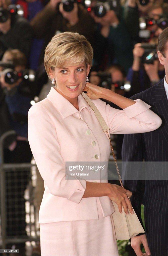 Diana, Princess Of Wales, At The Daily Star Gold Awards At The Savoy Hotel, London