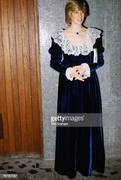 Diana Princess of Wales at the National Film Institute Dinner at the Royal Festival Hall