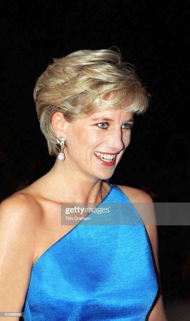 Diana, Princess Of Wales, At The Victor Chang Cardiac Research Institute Dinner Dance At The Sydney Entertainment Centre, Sydney, Australia