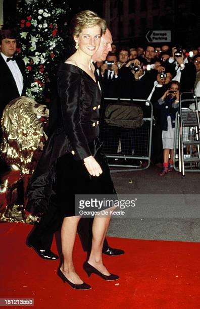 Diana Princess of Wales attends a reception on May 1989 in London England