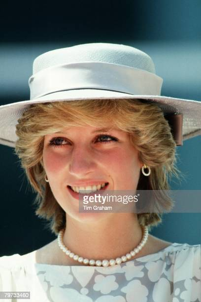Diana Princess of Wales attends the inauguration of new Police Headquarters in Ottawa as part of her official tour of Canada