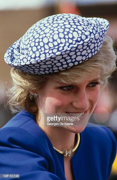 Diana Princess of Wales during a trip to Canada 3rd May 1986