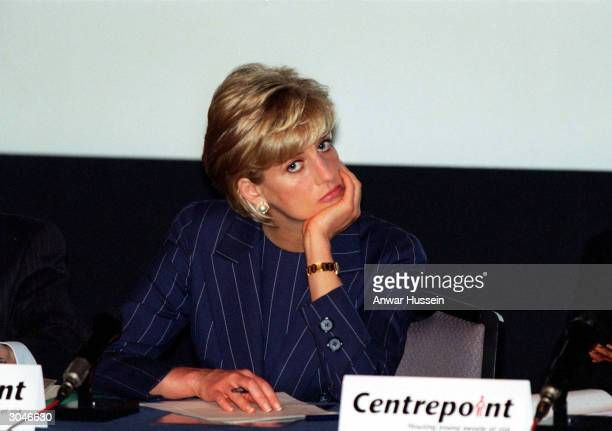 This undated photo shows Diana Princess of Wales A recording of the Princess talking frankly about her relationships with the Royal Family has been...