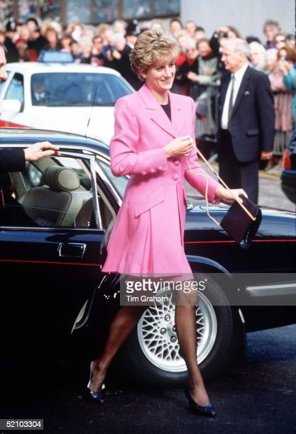 Diana Princess Of Wales In Manchester