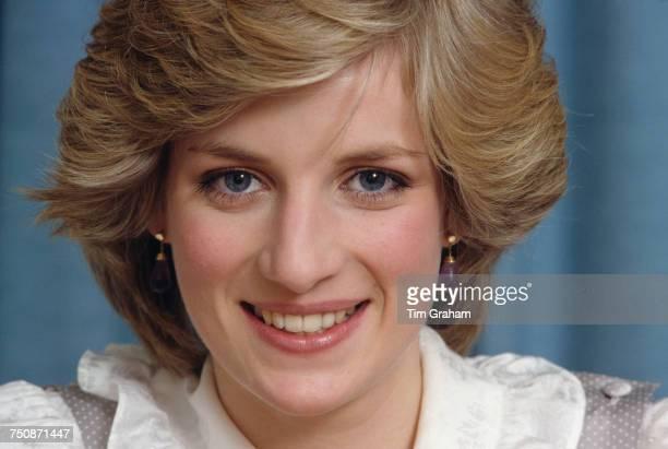 Diana Princess of Wales Kensington Palace London February 1983