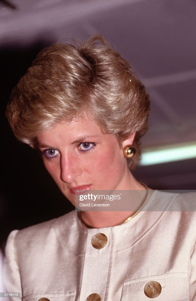 Diana Princess of Wales visits the Molai Centre, a leprosy hospital in March 1990 in Borno, Nigeria during the Royal Tour of Nigeria.