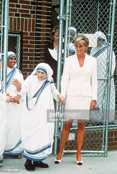 The Princess of Wales bonds with Mother Teresa in New York On July 1st Diana Princess Of Wales would have celebrated her 50th BirthdayPlease refer to...