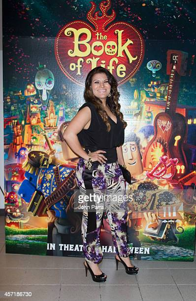 Diana Reyes attends The Book Of Life red carpet screening>> at Regal South Beach on October 13 2014 in Miami Florida