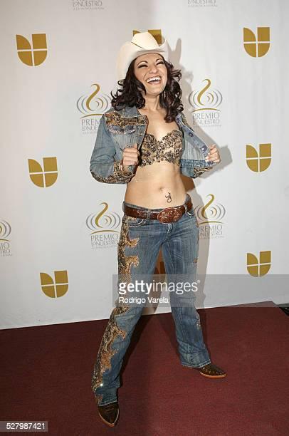 Diana Reyes during 2005 Premio Lo Nuestro Awards Nominations Announcement at Univision Studios in Miami Florida United States