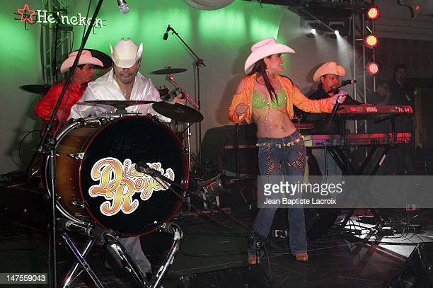 Diana Reyes during 2006 Billboard Latin Music Conference Awards Billboard Bash Party at Ritz Carlton in Miami Beach Florida United States