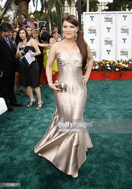 Diana Reyes during Billboard Latin Music Conference and Awards 2007 Arrivals at Bank United Center in Coral Gables Florida United States