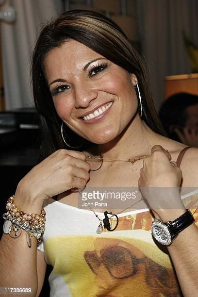 Diana Reyes during Billboard Latin Music Conference and Awards 2007 Backstage Creations Gift Suite Day 1 at Bank United Center in Coral Gables...