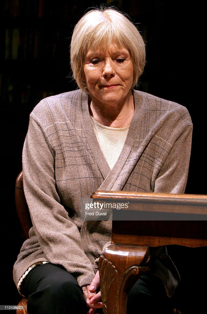 <a gi-track='captionPersonalityLinkClicked' href=/galleries/search?phrase=Diana+Rigg&family=editorial&specificpeople=206289 ng-click='$event.stopPropagation()'>Diana Rigg</a> during 'Honour' at Wyndham's Theatre - Photocall at Wyndham's Theatre in London, Great Britain.