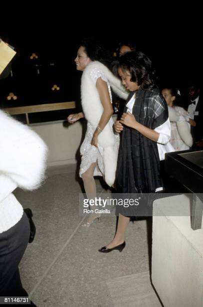 Diana Ross and Daughter
