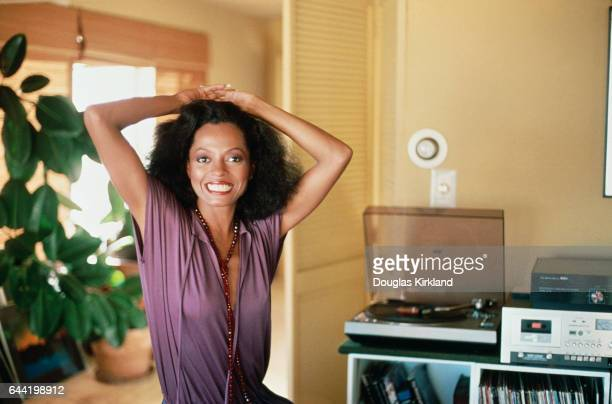 Diana Ross at Home