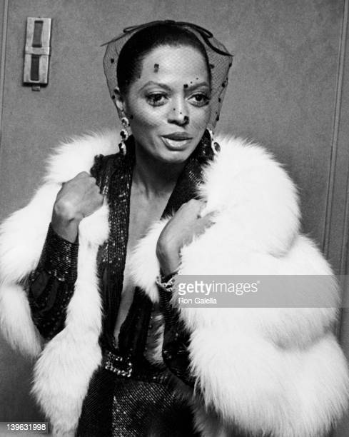 Diana Ross attends Foundation of Motion Picture Pioneer's Pioneer of the Year Awards Honoring Jule Styne on October 16 1978 at the Waldorf Astoria...