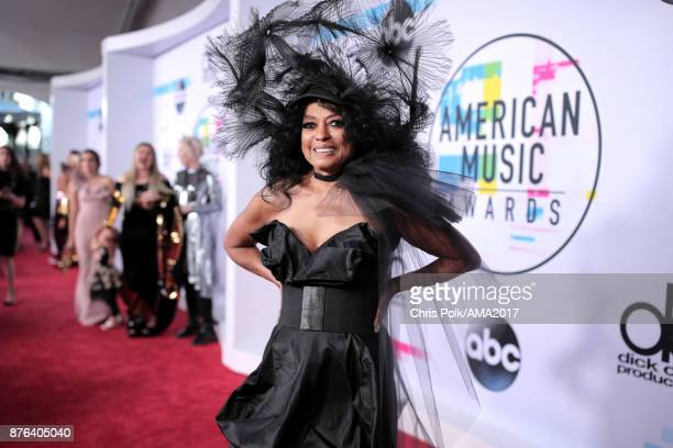 Diana Ross attends the 2017 American Music Awards at Microsoft Theater on November 19 2017 in Los Angeles California