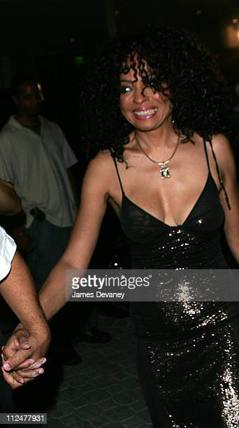 Diana Ross during Celebrity Sightings in South Beach August 27th 2004 at South Beach in Miami Florida United States