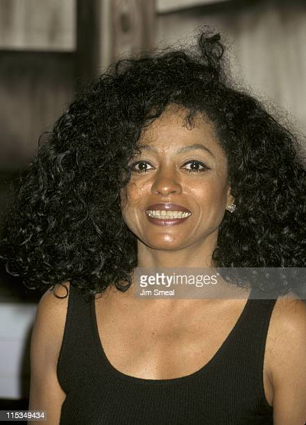 Diana Ross during Diana Ross Autographing Copies of Her New Album 'Take Me Higher' at The Wherehouse in Los Angeles California United States