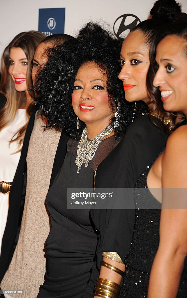 <a gi-track='captionPersonalityLinkClicked' href=/galleries/search?phrase=Diana+Ross&family=editorial&specificpeople=202836 ng-click='$event.stopPropagation()'>Diana Ross</a>, <a gi-track='captionPersonalityLinkClicked' href=/galleries/search?phrase=Evan+Ross&family=editorial&specificpeople=711885 ng-click='$event.stopPropagation()'>Evan Ross</a>, <a gi-track='captionPersonalityLinkClicked' href=/galleries/search?phrase=Tracee+Ellis+Ross&family=editorial&specificpeople=211601 ng-click='$event.stopPropagation()'>Tracee Ellis Ross</a>, <a gi-track='captionPersonalityLinkClicked' href=/galleries/search?phrase=Chudney+Ross&family=editorial&specificpeople=795303 ng-click='$event.stopPropagation()'>Chudney Ross</a> and <a gi-track='captionPersonalityLinkClicked' href=/galleries/search?phrase=Rhonda+Ross&family=editorial&specificpeople=1537998 ng-click='$event.stopPropagation()'>Rhonda Ross</a> Kendrick arrive at the Clive Davis and The Recording Academy's 2012 Pre-GRAMMY Gala and Salute to Industry Icons Honoring Richard Branson at The Beverly Hilton hotel on February 11, 2012 in Beverly Hills, California.