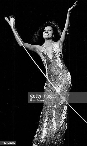 SEP 5 1983 OCT 7 1983 JUL 23 1985 JUL 19 1987 Diana Ross Greets her Audience Thursday Night at McNichols Arena
