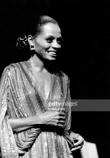 Diana Ross in Concert circa 1976 in New York City