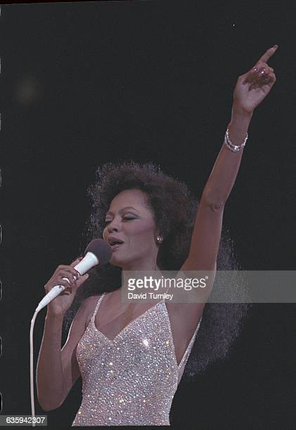 Diana Ross in Sequined Dress