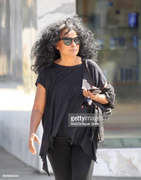Diana Ross is seen on August 17 2017 in Los Angeles California